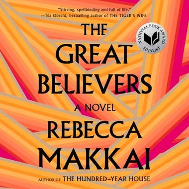 The Great Believers audiobook cover.