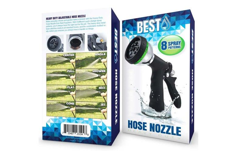 Hose nozzle.