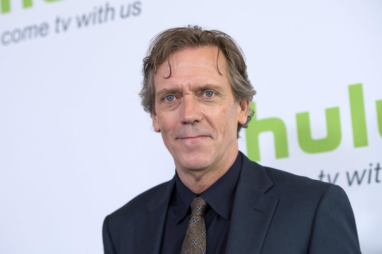Hugh Laurie at the The 2016 Hulu TCA Summer Press Tour.