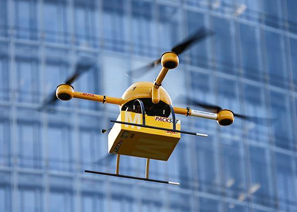 DHL microdrone
