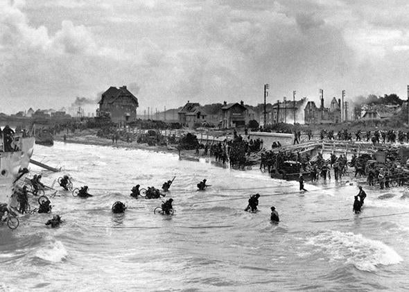 D Day Normandy Landing Science The Army Navy Compromise On Tides