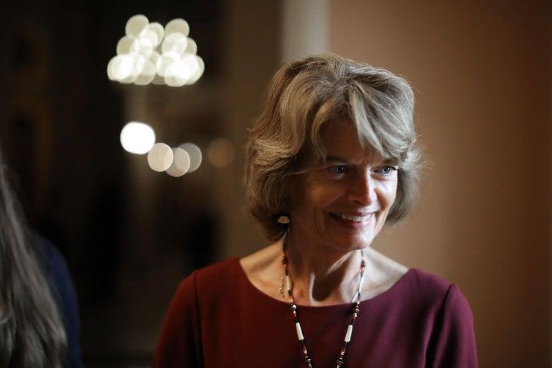 Alaska Sen. Lisa Murkowski.