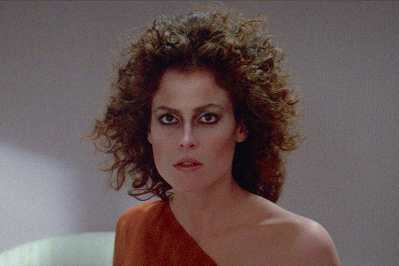 Sigourney Weaver in the original Ghostbusters.