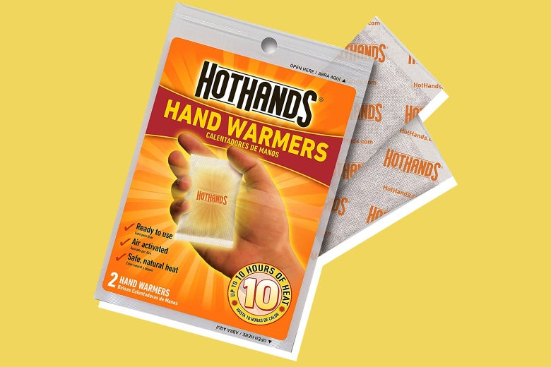 Packet of hand warmers