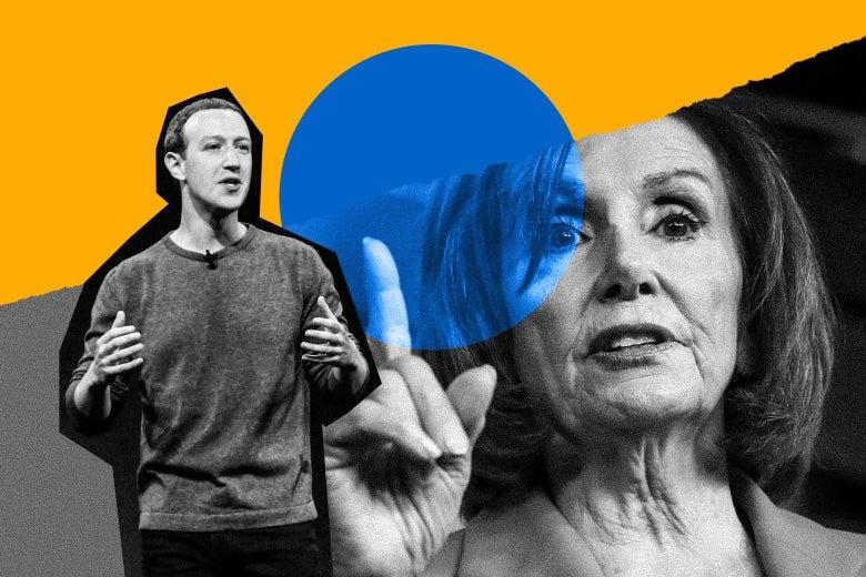 Mark Zuckerberg Reached Out to House Speaker Nancy Pelosi