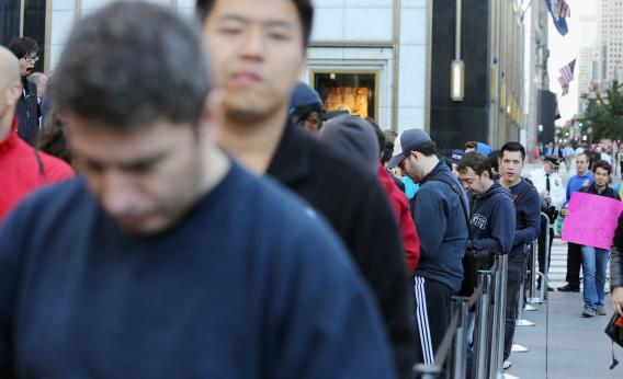 Apple iPhone 5 lines