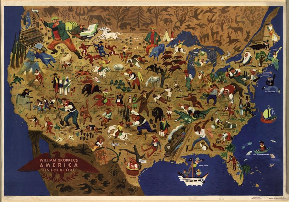 Folklore Map