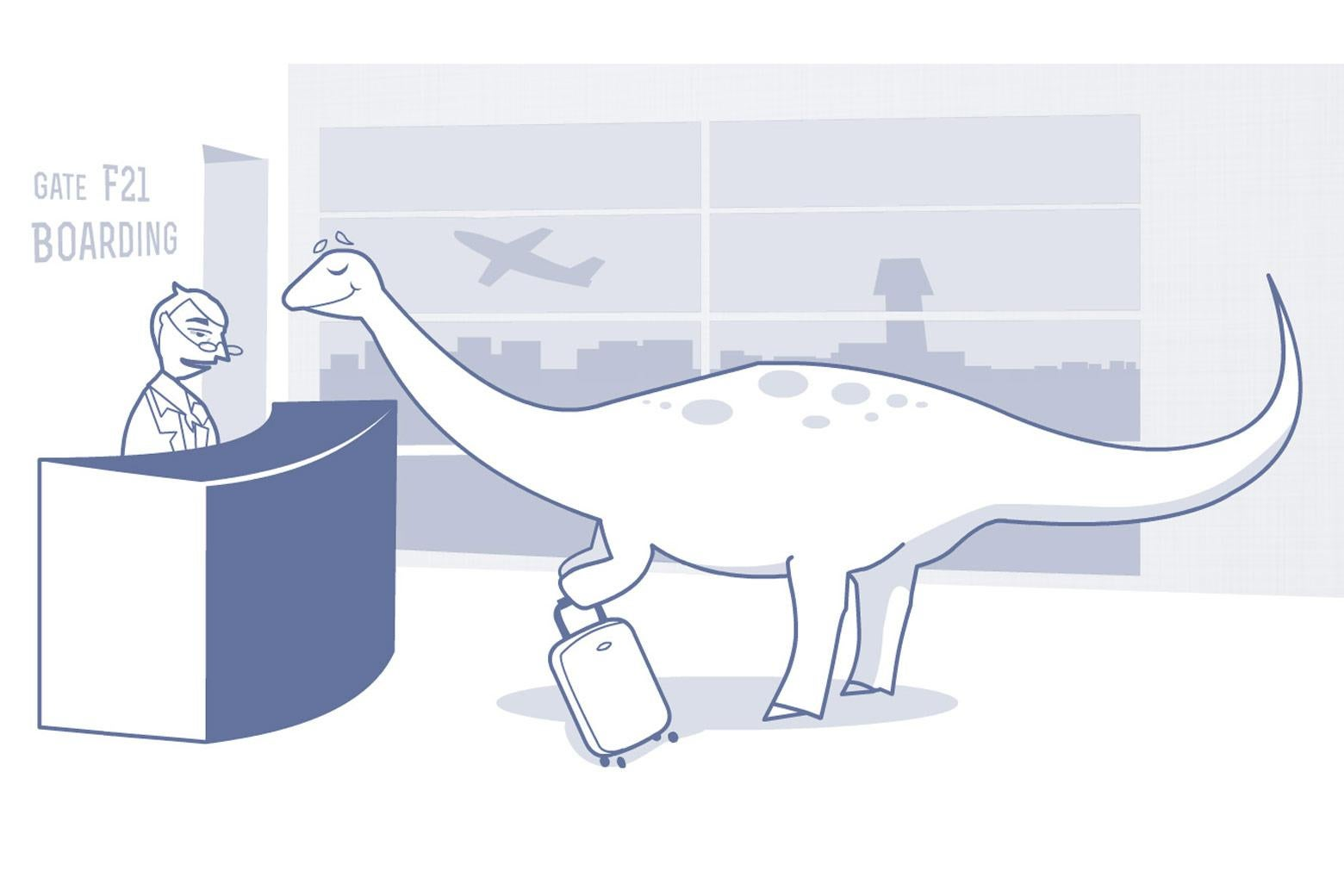 The Kindly Brontosaurus can help you get whatever you want.