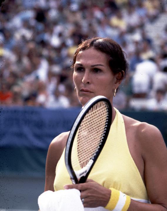 Jewish Jocks and Renée Richards: The life of the transsexual tennis legend.