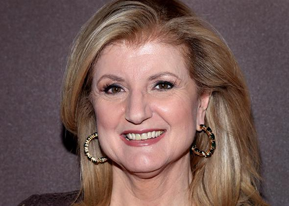 Arianna Huffington attends The Hollywood Reporter 35 Most Powerful People In Media Celebration.