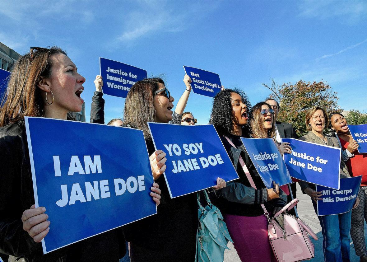 Jane Doe protest