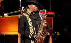 Clarence Clemons. Click image to expand.