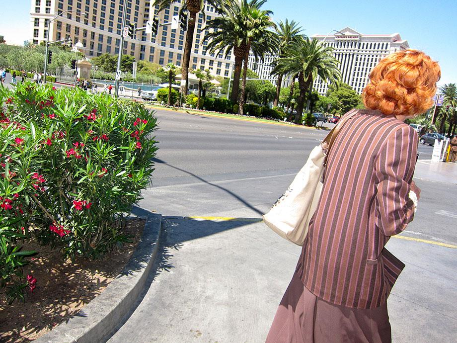 Redhead on the Strip from Vegas, 2013