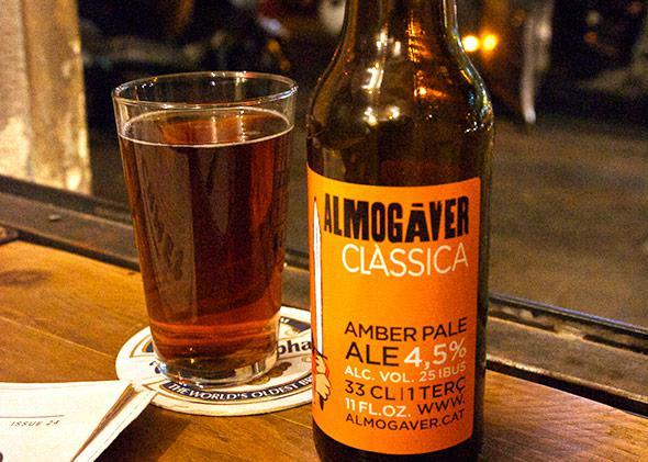 Catalan craft beer.
