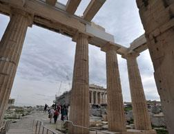 The Parthenon. Click image to expand.