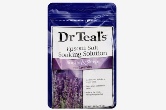 Dr. Teal's Therapeutic Solutions Epsom Salt in Lavender.