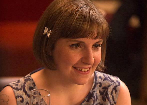 Lena Dunham in season 4 of Girls.