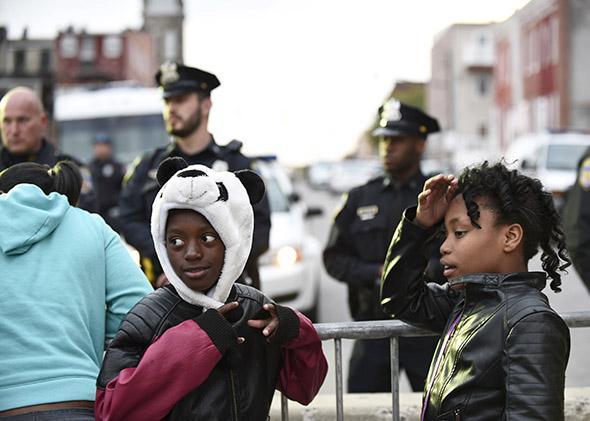 Children in Baltimore