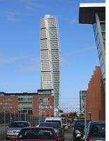 The Turning Torso tower         Click image to expand.