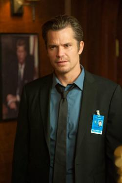 Timothy Olyphant stars in JUSTIFIED.