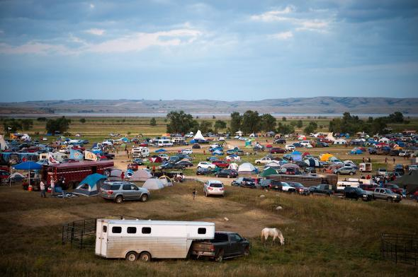 North Dakota police will cut off Standing Rock protesters