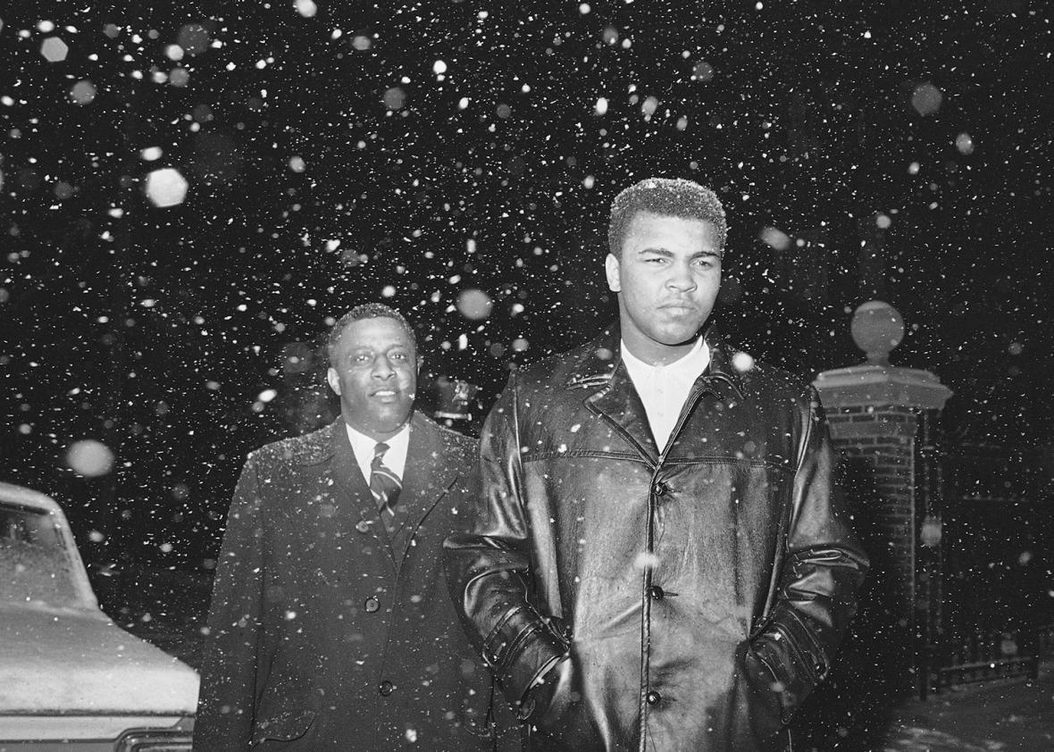 Muhammad Ali and Elijah Muhammad
