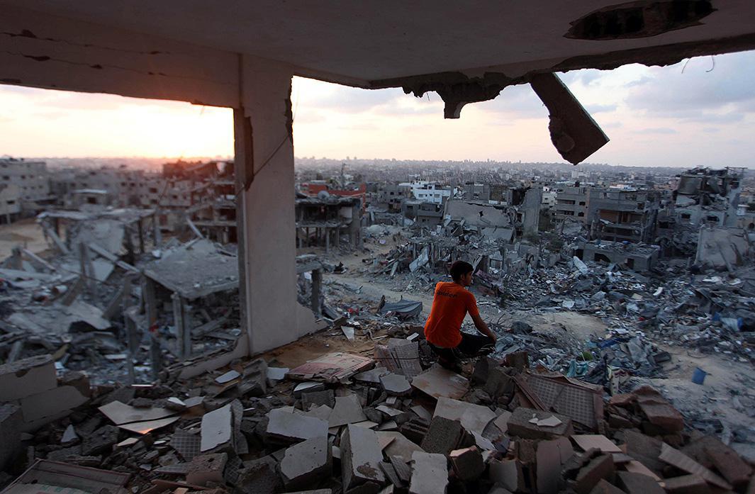 Aug. 31, 2014: Gaza City, Gaza