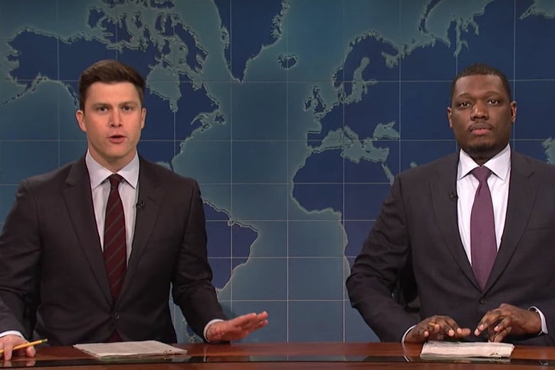 Michael Che And Colin Jost Will Host The 2018 Emmys