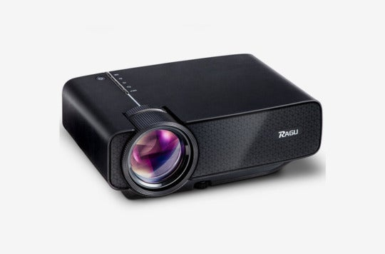 Ragu Z400 Mini Projector, Multimedia Home Theater Video Projector.