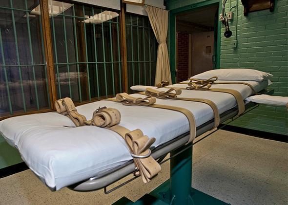 Death chamber, Huntsville Texas