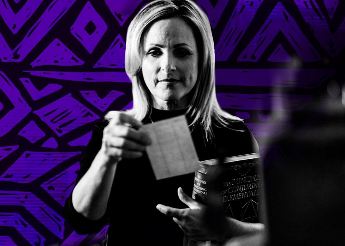 Marlee Matlin as Harriet