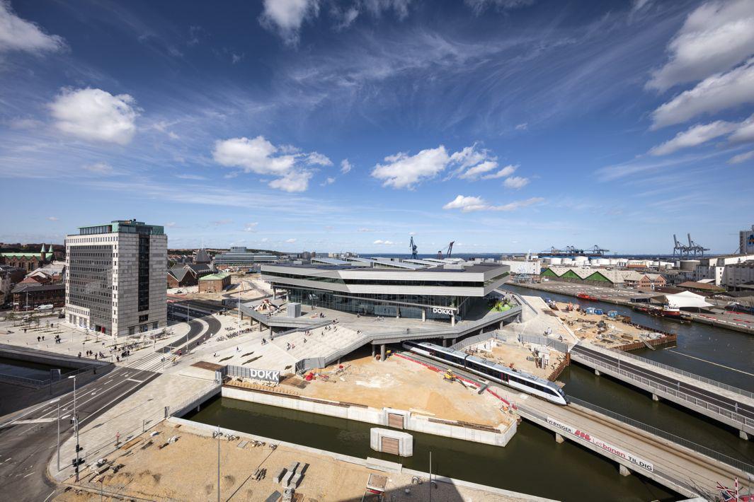 Schmidt Hammer Lassen Architects_Dokk1_exterior_construction