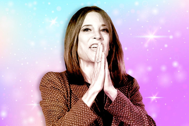 The Gay Divide Over Marianne Williamson