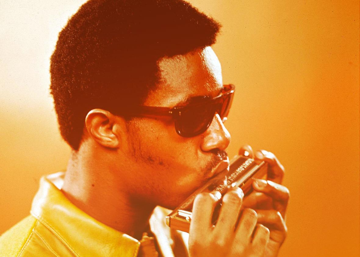 Did We Mention That Stevie Wonder Is Also an Incredible Harmonica Player?