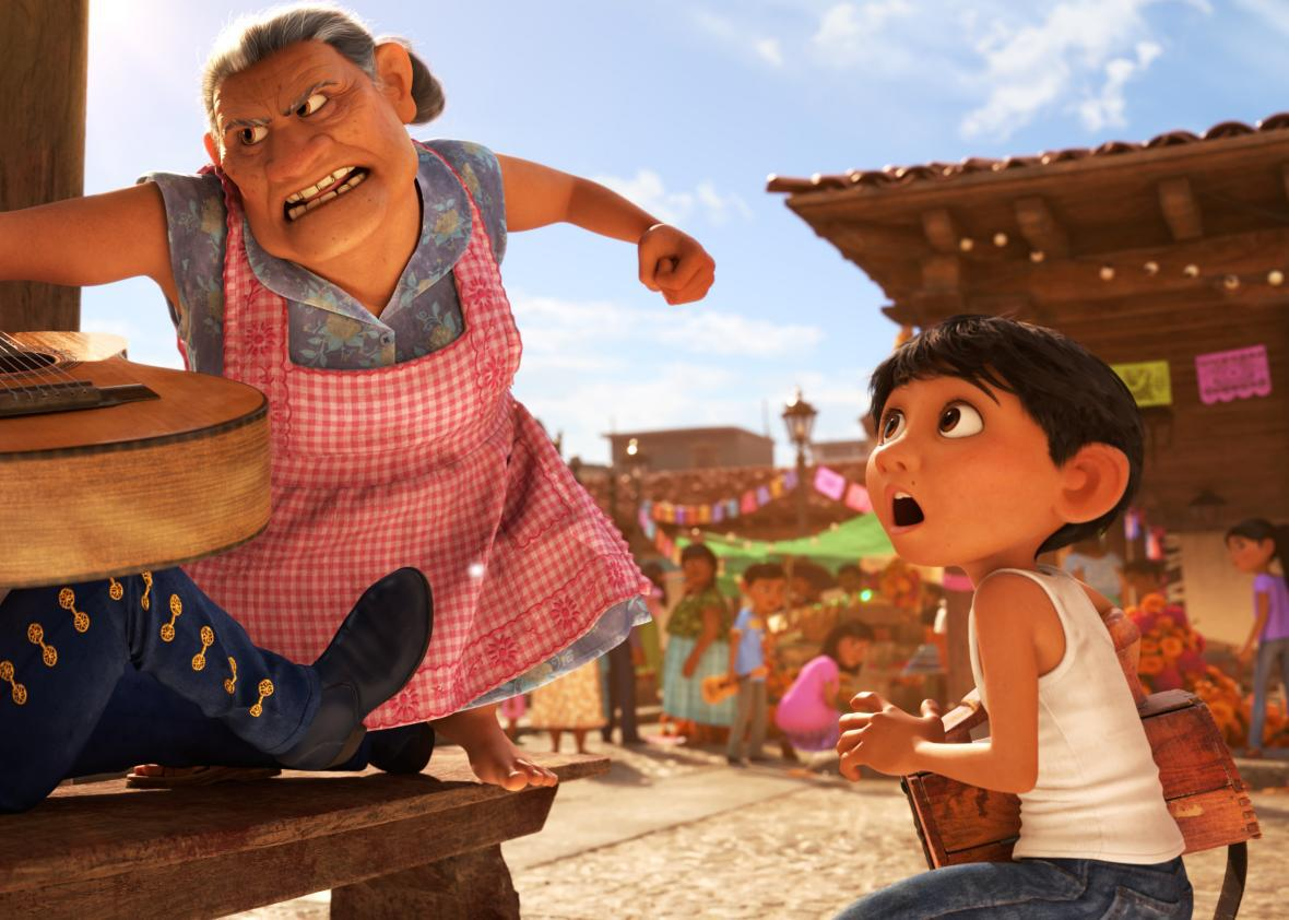 spanish coco movie actors