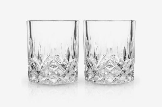 Admiral Set of 2 Double Old-Fashioned Glasses.