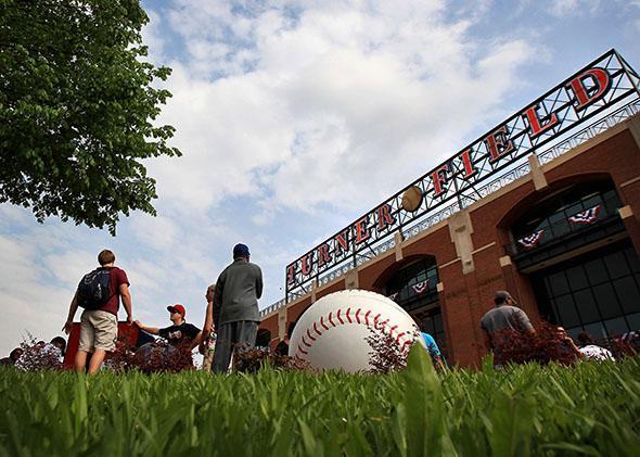 The Atlanta Braves' Turner Field.