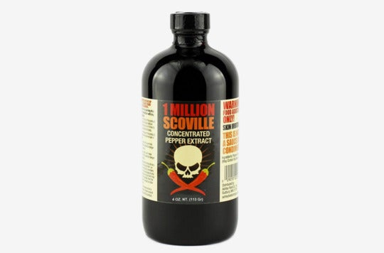 1 Million Scoville Pepper Extract Hot Sauce.