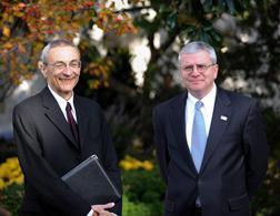 John Podesta and Josh Bolten. Click image to expand.
