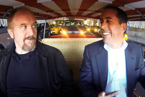 Louis CK and Jerry Seinfeld: Comedians in Cars Getting Coffee, Season 3, episode 1 -- watch.