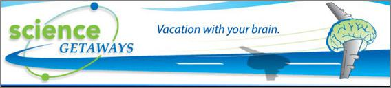 Science Getaways banner