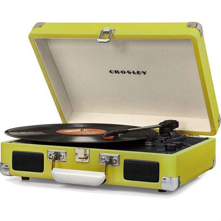 Crosley Cruiser 3-Speed Bluetooth Suitcase Turntable