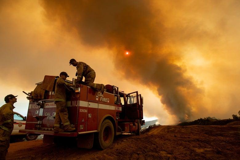 Mendocino Complex fire in California