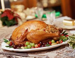 Turkey dinner. Click image to expand.