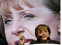Angie Merkel: She's no Maggie Thatcher. Click image to expand.
