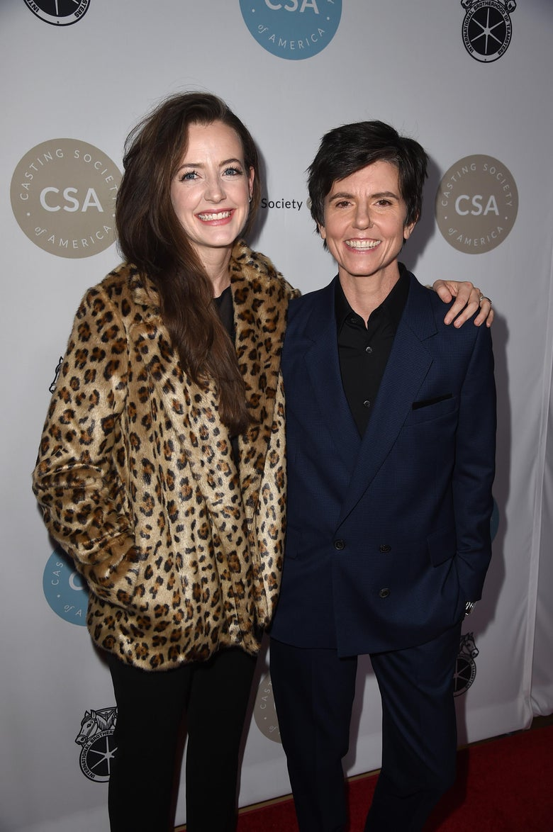 Stephanie Allynne L And Tig Notaro Attend The Casting Society Of Americas Rd Annual