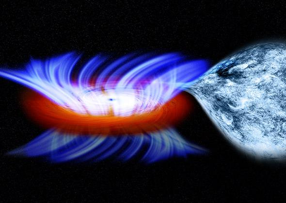 NASA'S Chandra Finds Fastest Wind From Stellar-Mass Black Hole.