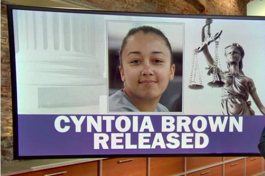 Cyntoia Brown, Sex Trafficked Teen Convicted Of Murder, Is -5082