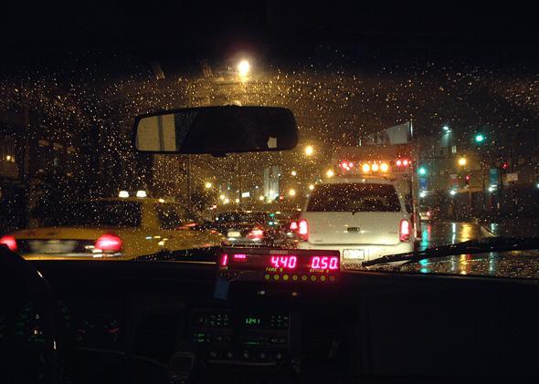 taxi meter.