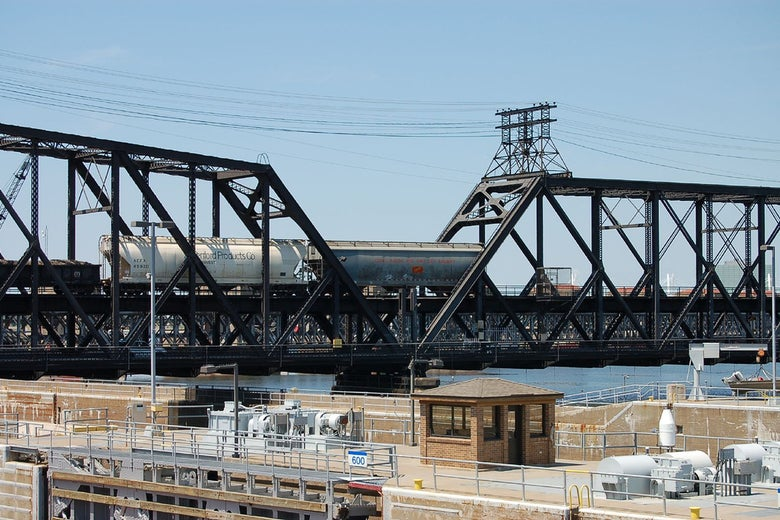 Bridges, locks, and freight trains, oh my.